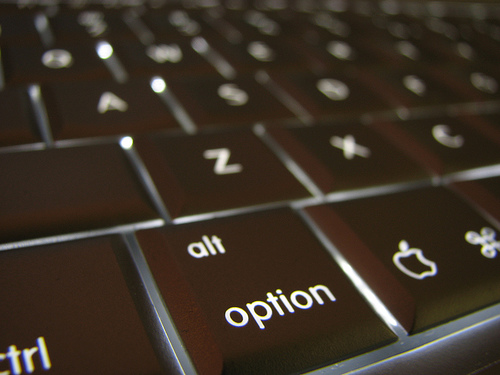 Macでコマンドやオプションなどの特殊記号を入力する方法