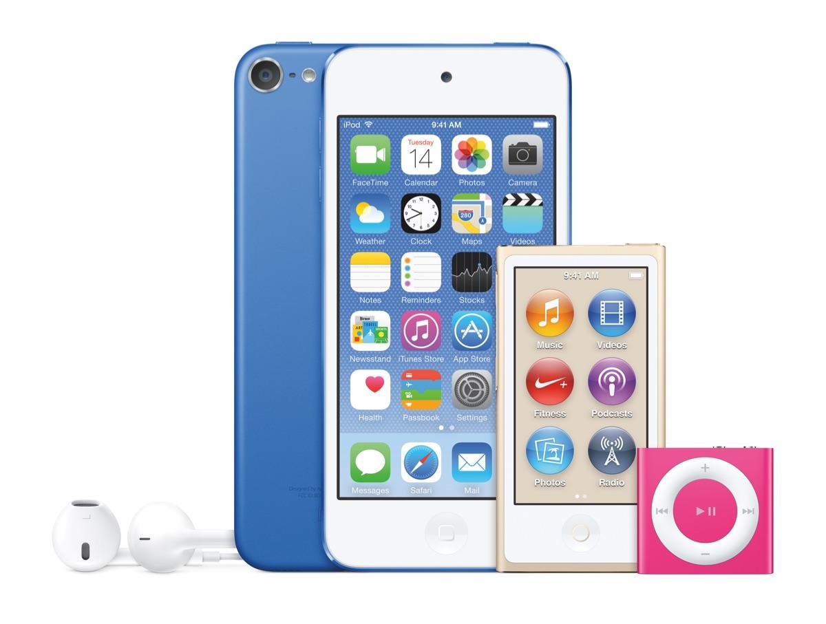 新型iPod touch発売開始!iPhone6・iPhone6Plus・iPhone5sと仕様や性能を徹底比較!