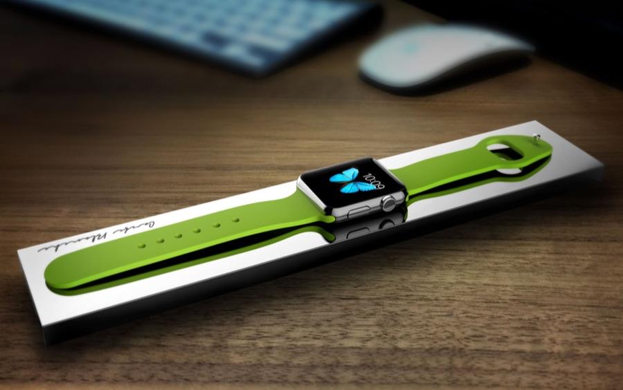 超オシャレな平置き型AppleWatch充電スタンド「BLOC Power Bank for Apple Watch」
