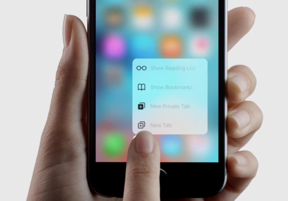 iPhone6s新機能「3D Touch」が反応しないと感じた時の設定方法