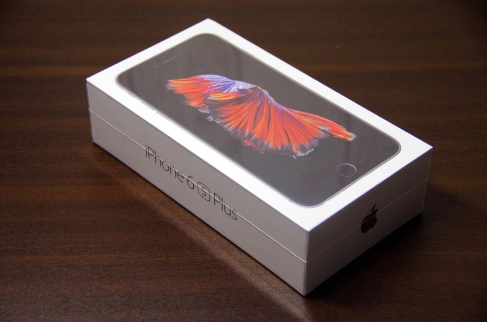 iPhone6s Plusがようやく届いた!いざ、開封の儀!外観レビュー