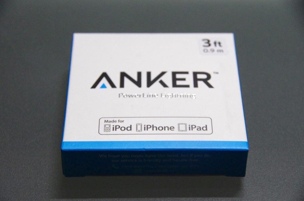 Anker防弾仕様Lightningケーブルで急速充電できるか検証!iPhoneアダプタ編