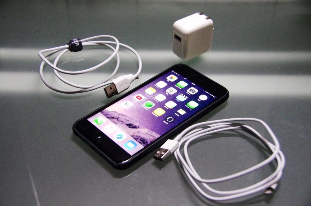 Anker製Lightningケーブルは急速充電できるか検証!iPadアダプタ編