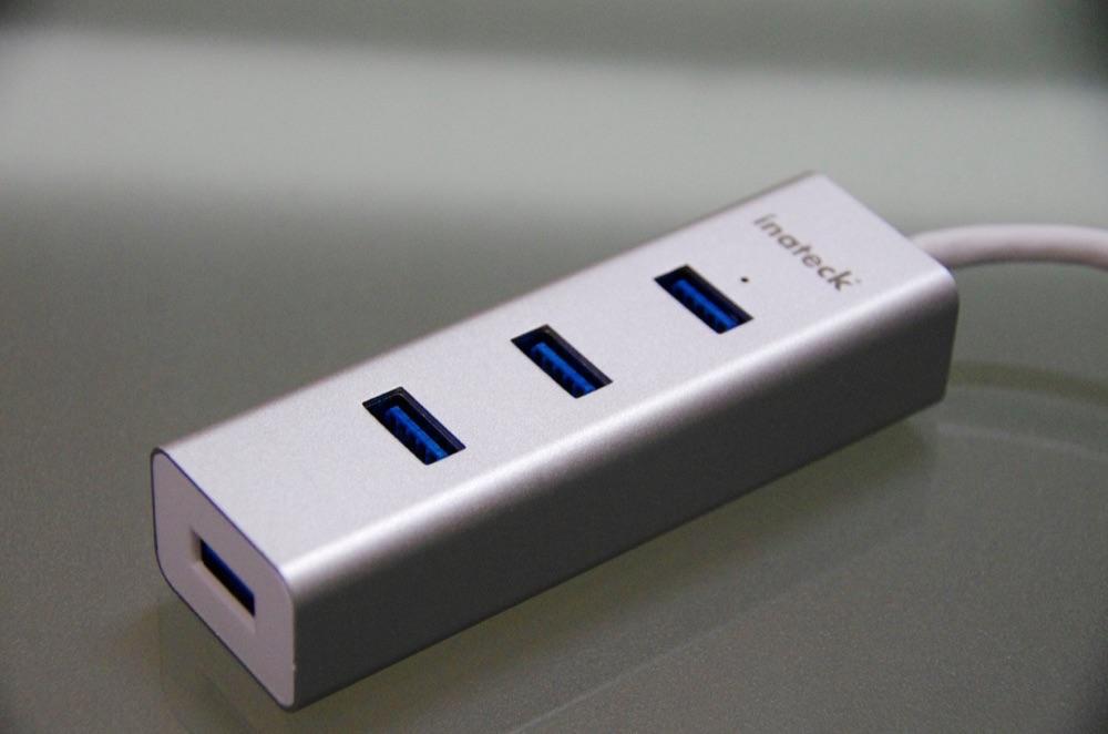 新型MacBookを拡張!USB3.0ポート4つ搭載のInateck製USBハブが便利!