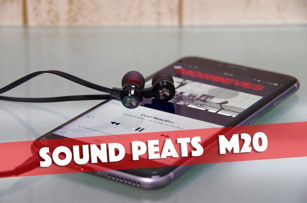 ナチュラル音質で聞きやすいイヤホンが2000円以下!Sound PEATS「M20」がオススメ!