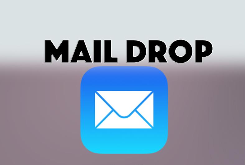 iOS9.2新機能MailDropの使い方!最大5GBまでメール添付可能に!