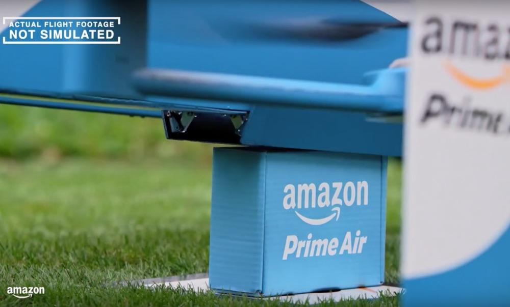 Amazonの30分爆速配達サービス「Prime Air」がすごすぎるっ!