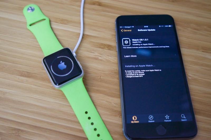 photo credit: Ce soir, première mise à jour pour l'Apple Watch via photopin (license)
