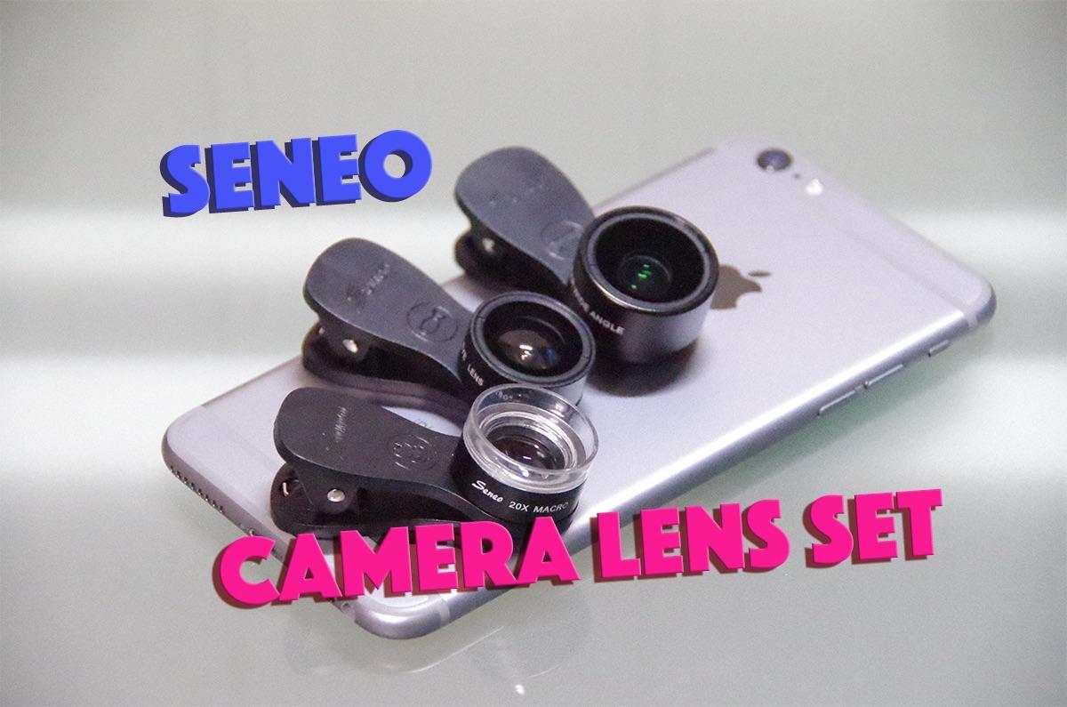 広角,魚眼,マクロレンズをiPhoneへ簡単クリップ装着「Seneo カメラレンズセット」レビュー!スマホにもオススメ!