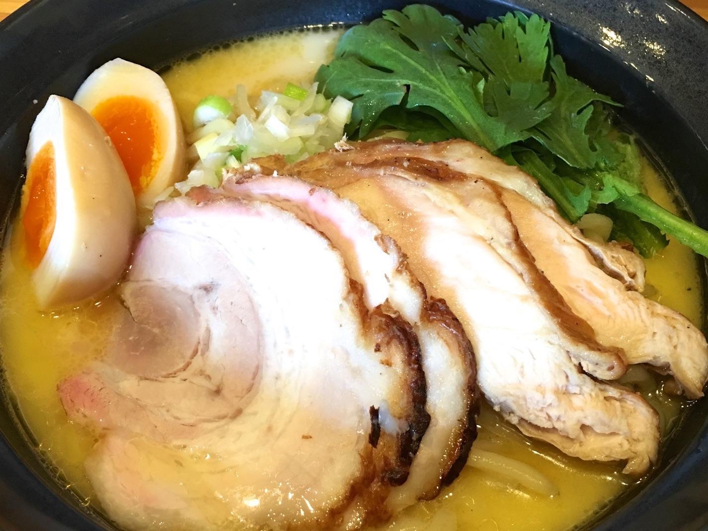 横浜綱島「鶏らーめん 極楽鳥」で極上の鶏白湯ラーメンを食す!横浜は家系だけじゃないぞ!