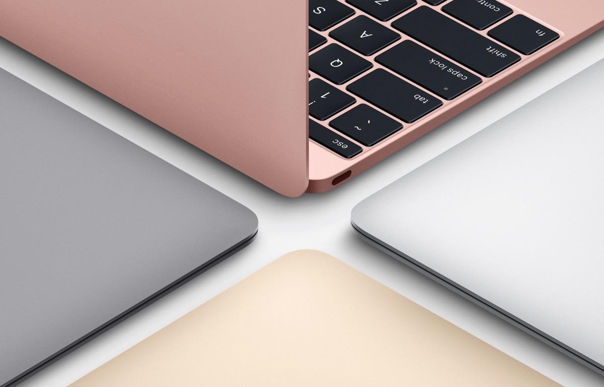 12インチ型「MacBook」にローズゴールドが追加され新登場!第6世代Intelプロセッサでかなり快適に!前モデルと比較してみた
