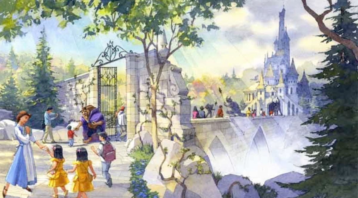 ディズニー値上げの理由はコレだ!新エリア「美女と野獣」や新アトラクションの概要が明らかに!