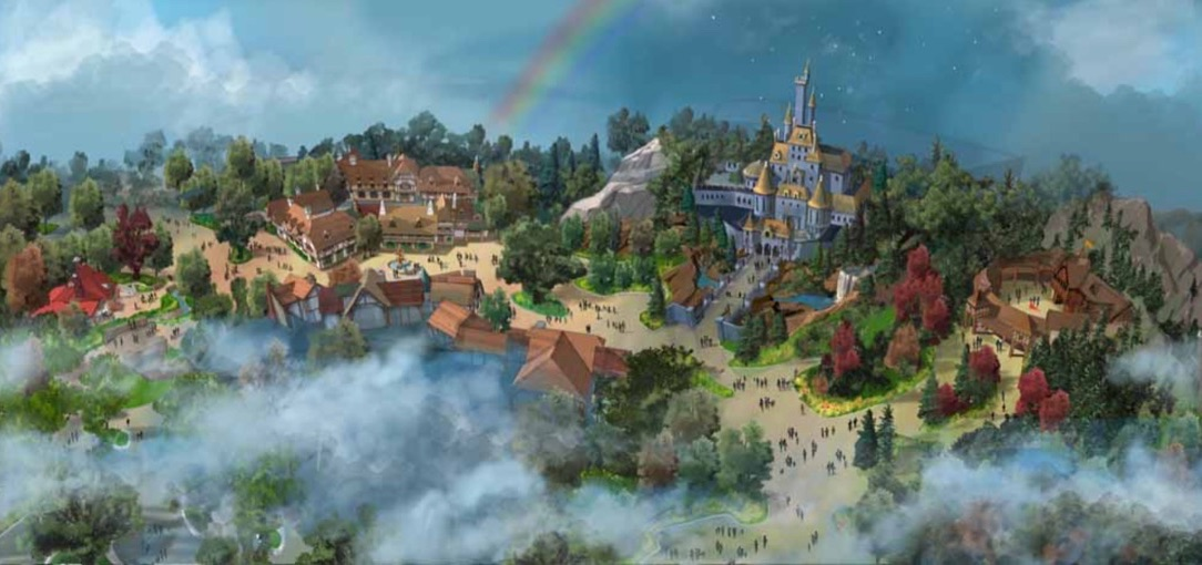 ファンタジーランド新エリアの全景/Image via Disney