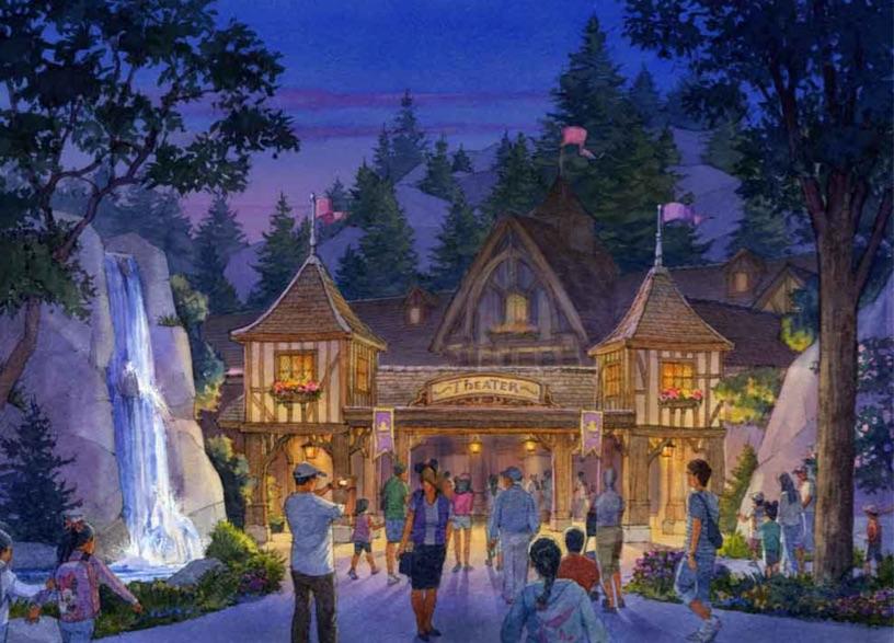 ライブエンターテイメントシアターの外観【Image via Disney】