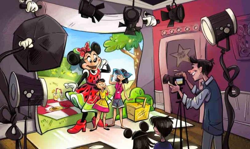 新キャラクターグリーティング施設の体験シーン【Image via Disney】