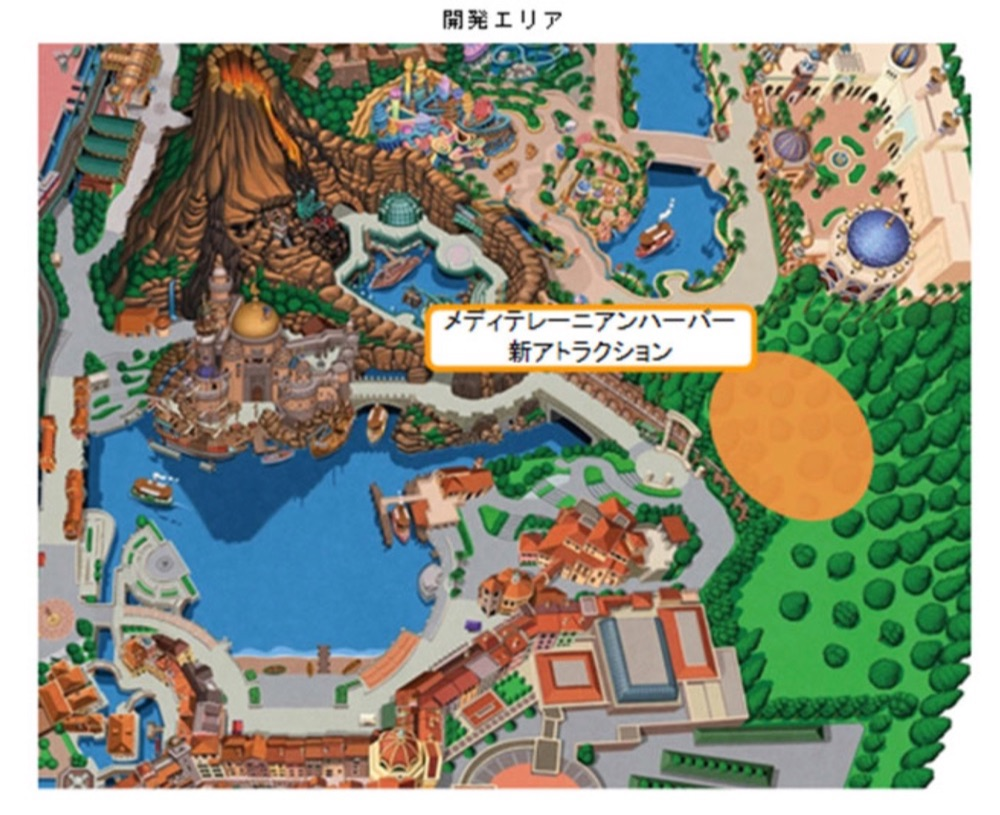 開発エリア【Image via Disney】
