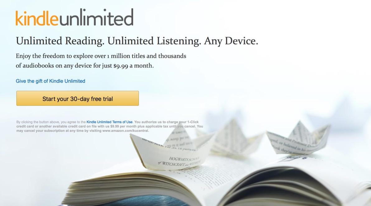 月980円でAmazonの電子書籍に読み放題になるサービス「Kindle Unlimited」が8月にもサービス開始か!?
