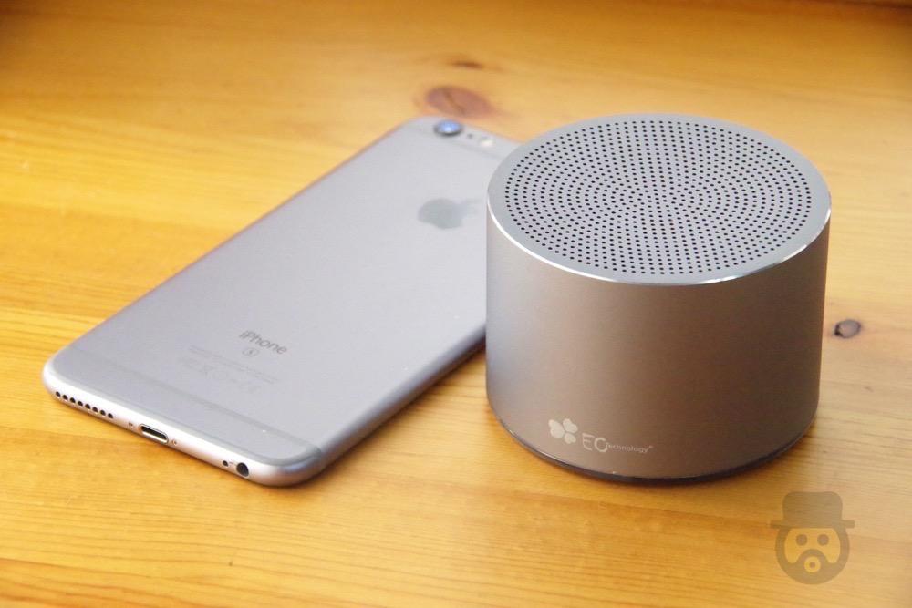 スタイリッシュでオシャレなEC Technology製Bluetoothスピーカーが手軽で良い感じ!【レビュー】