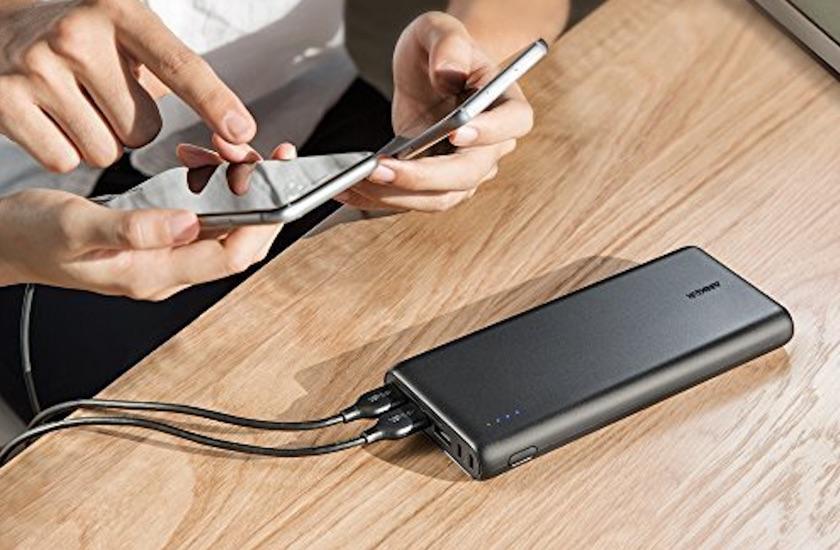 Anker、3台同時充電が可能な超大容量モバイルバッテリー「Power Core 26800」を発売開始!