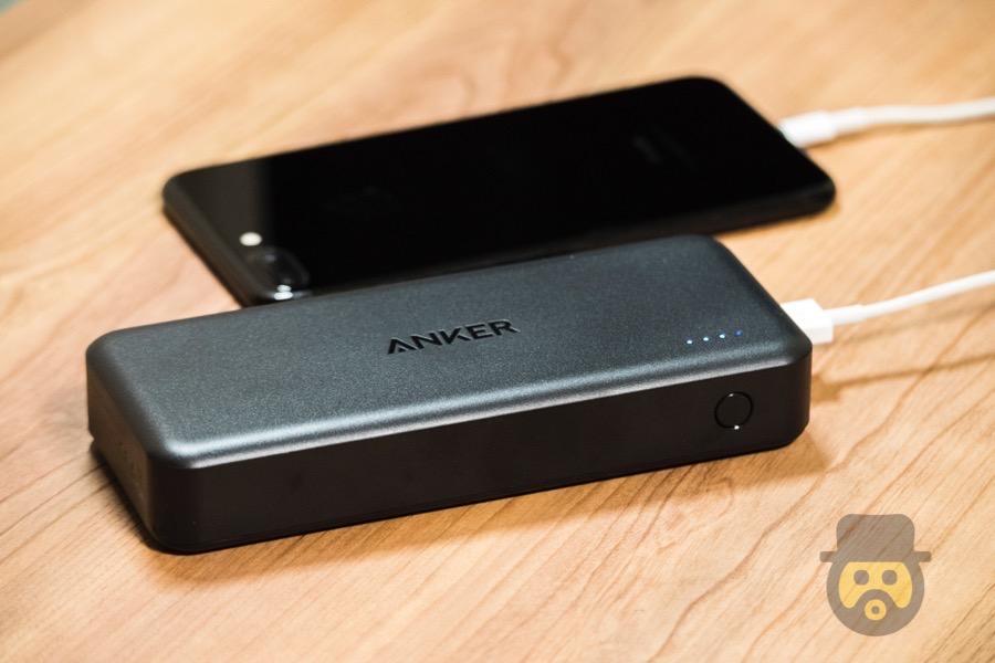 【レビュー】Anker製大容量バッテリー「PowerCore Ⅱ 20000」でスマホを急速充電できるぞ!