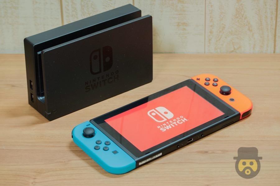 遂にゲット!Nintendo Switch(ニンテンドースイッチ)開封フォトレビュー!