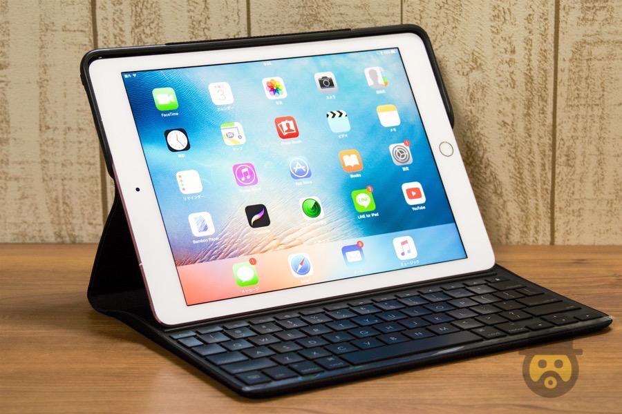 【レビュー】iPad Pro 9.7インチ用の一体型ケースならコレが最強!ロジクール製「CREATE」は本体保護、キーボード搭載、使い心地も良い万能ケース![PR]