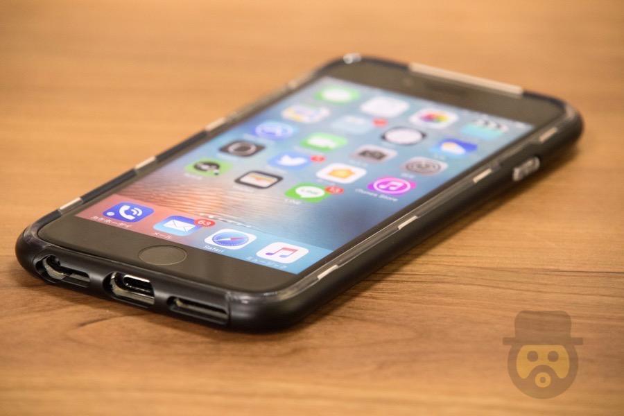 【レビュー】軍事規格の耐衝撃性を誇るiPhone6s/7兼用ケース「SENTINEL」装着で、万が一の時も安心