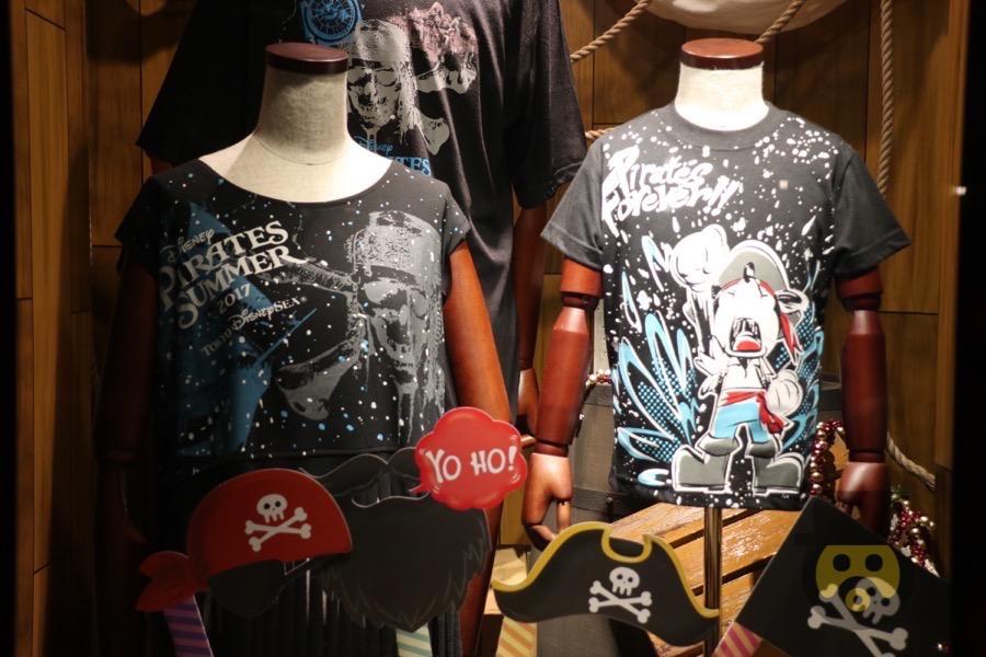【悲報】ディズニーパイレーツサマーの公式ミッキーTシャツが売り切れ、7月中の入荷見込みなし!