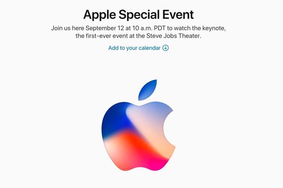 Apple、毎年恒例の9月スペシャルイベントを日本時間9月13日2時より開始!新型iPhone発表か!?
