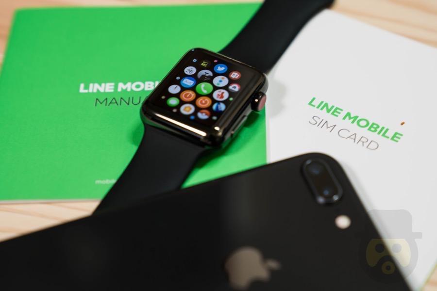 格安SIM「LINEモバイル」でApple Watch Series 3が使えるか設定してみた!【検証】