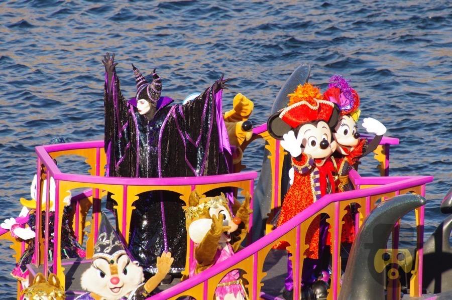 【ディズニーシー】公開前の2017年版ハロウィン「ザ・ヴィランズ・ワールド」をミラコスタより撮影!完全バージョンを一足お先にお届け!