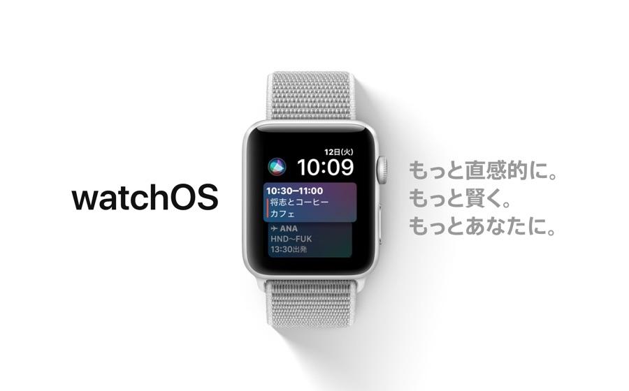 Apple、「watchOS 4」をリリース開始!新しい文字盤や個人に応じたコーチング機能が追加!