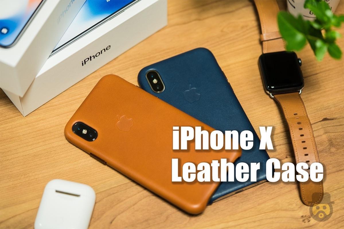 【レビュー】「iPhone X」純正レザーケース、柔らかい手触りや抜群のフィット感がたまらない!