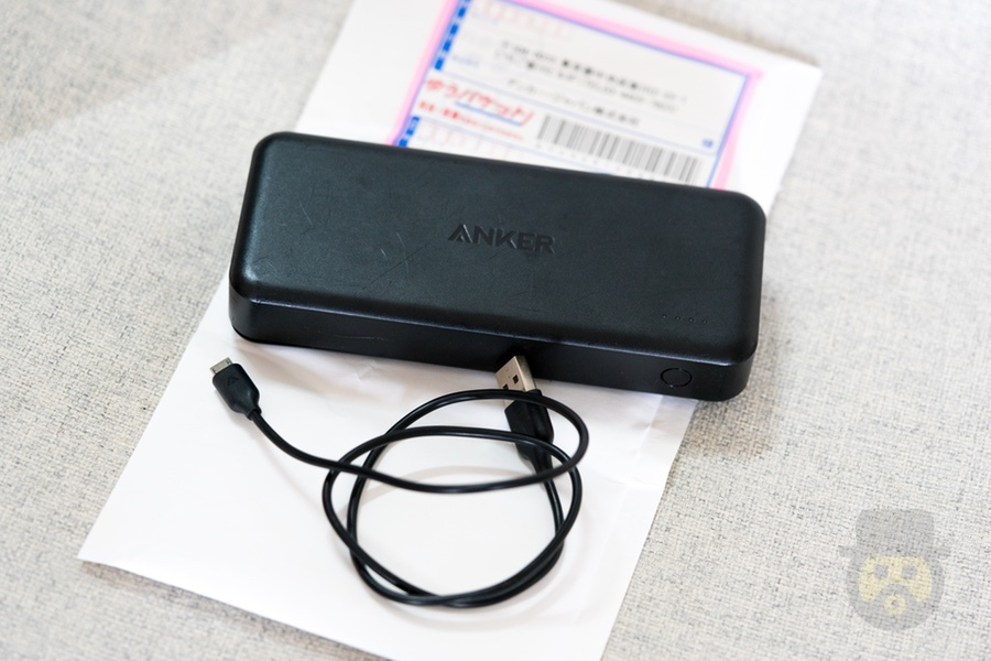 Anker製モバイルバッテリーが故障するもサポート対応が神すぎて感動!