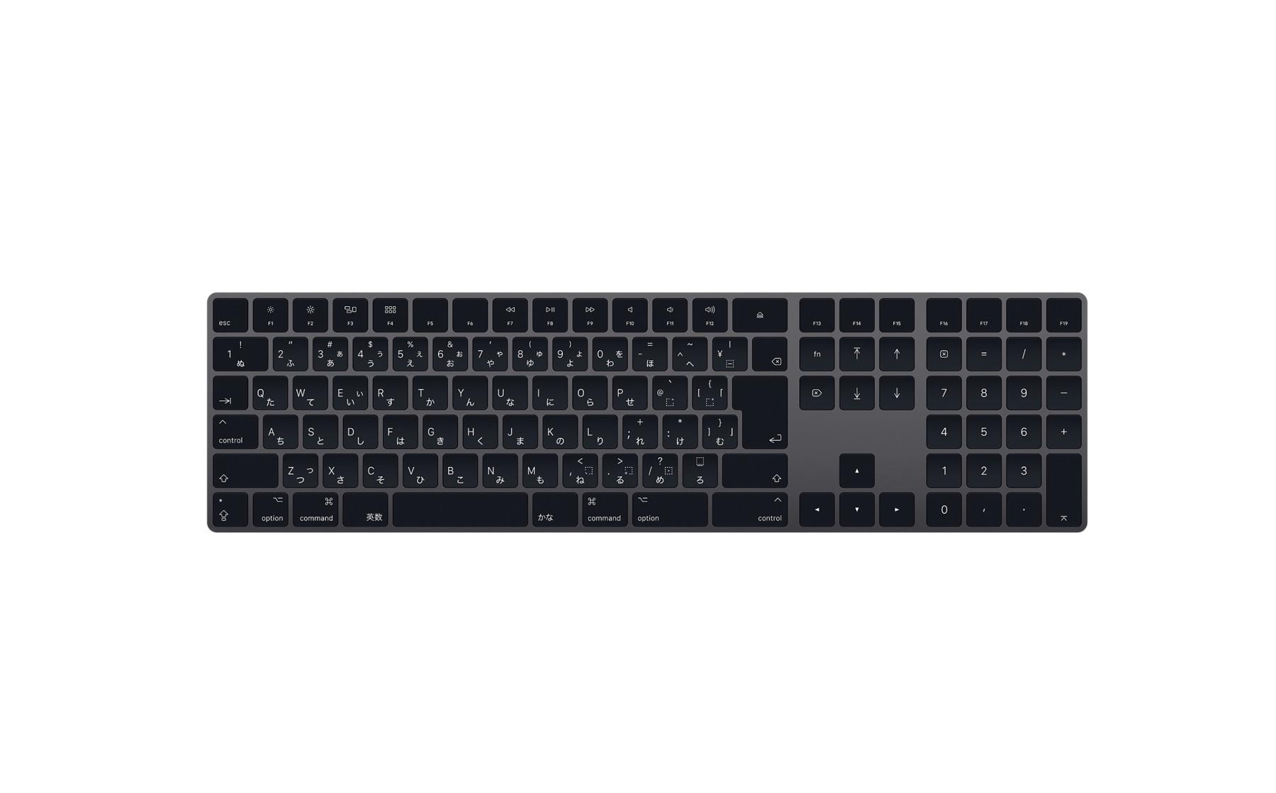 Magic Keyboard(テンキー付き)とMagic Trackpad 2の新色「スペースグレイ」でデスク周りを新調しようか悩む理由