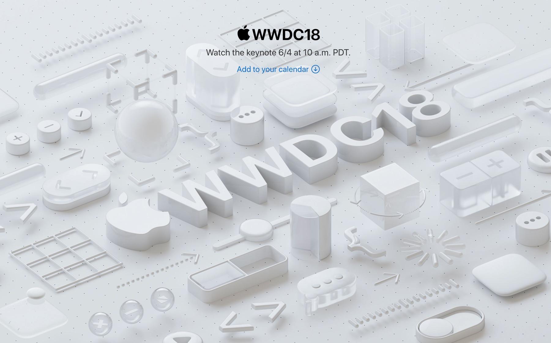 まもなくWWDC 2018開幕、個人的に期待したいポイントまとめ