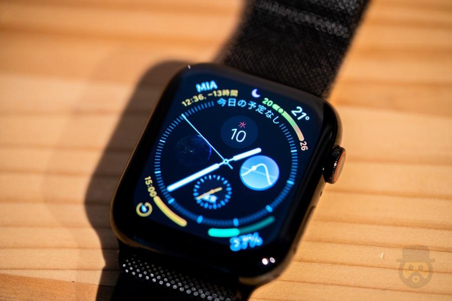 「Apple Watch Series 4」で天気や気温表示が出来ない時の対処方法