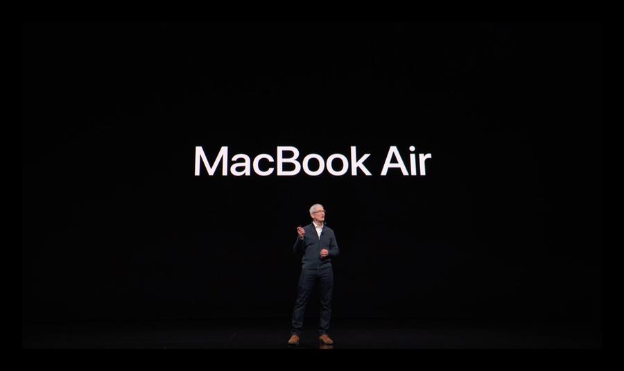 Apple、Retinaディスプレイを搭載した新型「MacBook Air」を発表!イベント内容まとめ